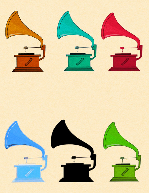 Gramophone clipart disk Art Clipart OneTongueSoup Gramophone