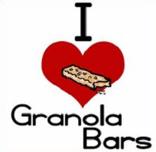 Granola clipart Bar Bars I Love Granola