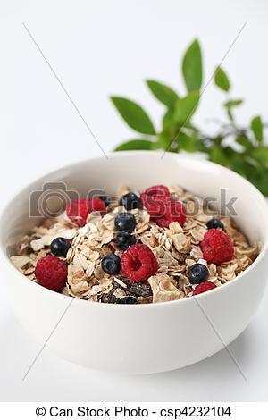 Granola clipart organic Organic blueberries Granola fresh with