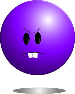 Anger clipart aggression Cartoon Image: ball Angry aggressive
