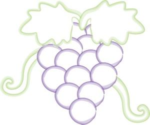 Grape clipart bunch grape Grapes Grapes Clipart Grapes Image