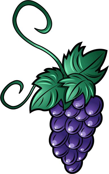 Grape clipart bunch grape » Fruit Food » of