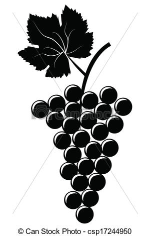 Grape clipart bunch grape Bunch Art  of of