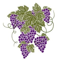 Grape clipart fancy And Art on graphics printables