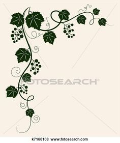 Grape clipart fancy Grape art Fotosearch EPS Art