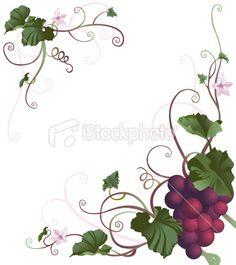 Grape clipart five #8
