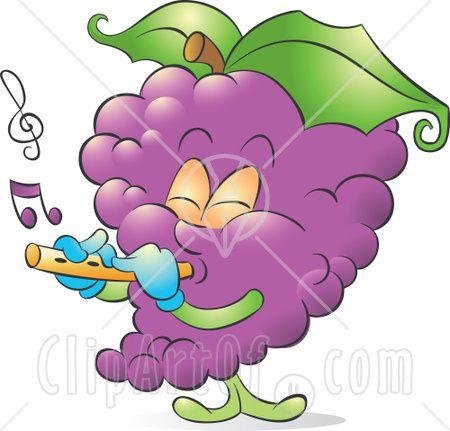 Grape clipart frut Art Grape Purple+grapes+fruit Clip