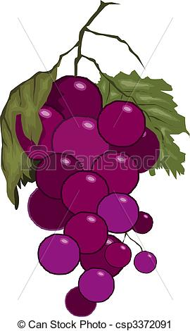 Grape clipart grape leaf Leaves Illustration  with Stock