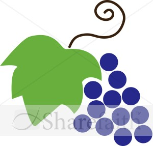 Grape clipart grape leaves And Leaf Clipart Communion