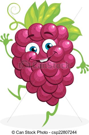 Grape clipart graphic Background  on a Vector
