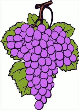 Grape clipart graphic Free Grape Clip Clip Art