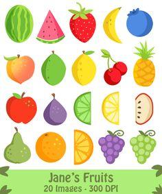 Grape clipart mix fruit #3