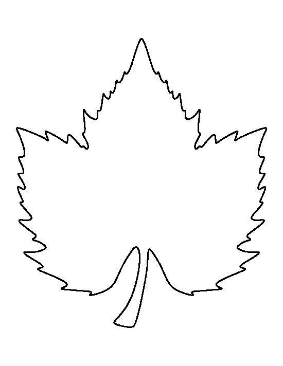 Grape clipart printable Art leaf the Leaf pattern