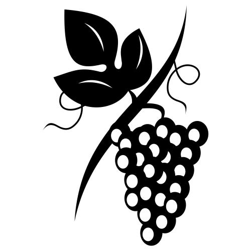 Grape clipart uva Of de uva ramo vinho