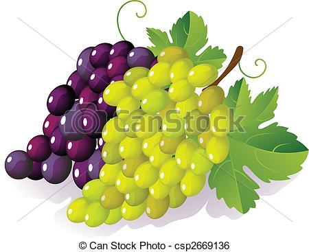 Grape clipart vector Clipartby grape grape 148; ripe