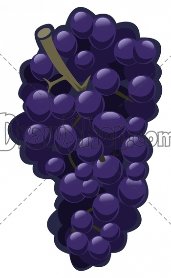 Grape clipart violet Projects Royalty your & designs