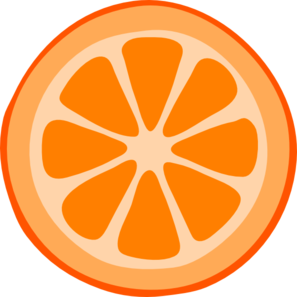 Grapefruit clipart orange wedge Clipart Free Panda Orange Images