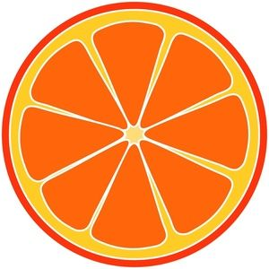 Grapefruit clipart orange wedge Com Cliparting photo art Clip