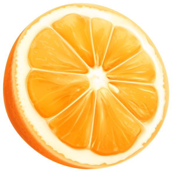 Grapefruit clipart orange wedge Art Clip Art Orange Clip