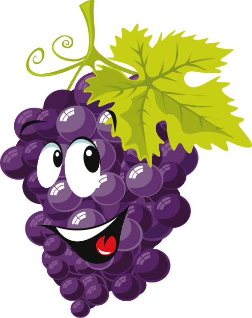 Grape clipart mango fruit Clip to Grapes & Art