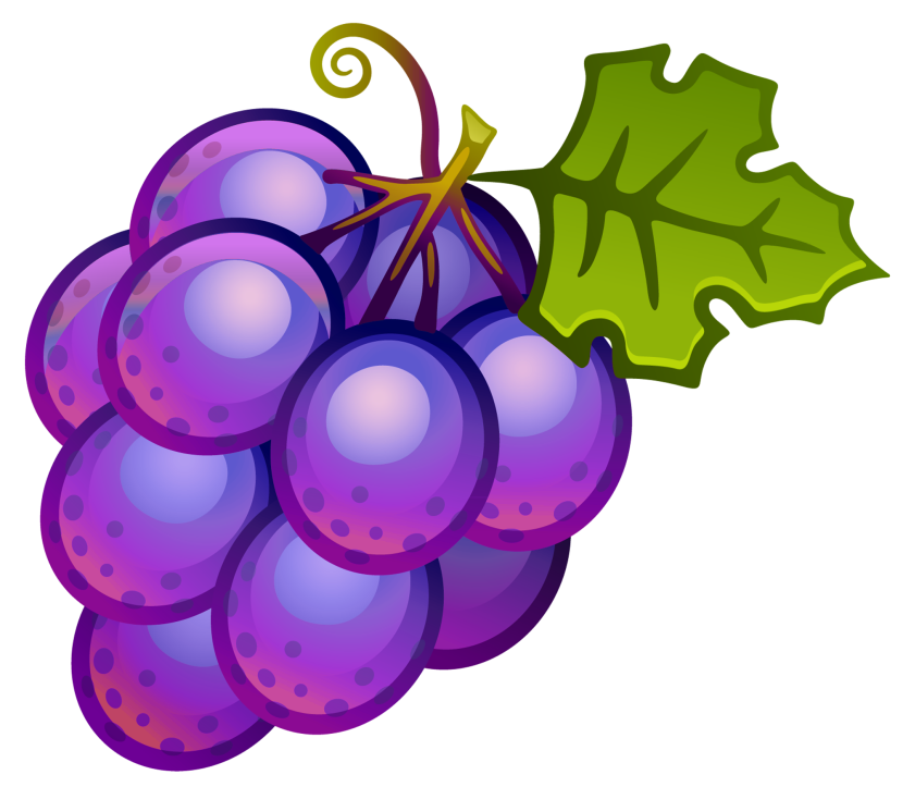 Grape clipart mango fruit Image com clip art Grapes