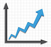 Graph clipart Graph Growth arrow graph ·