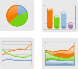 Graph clipart Vector com  at Clip