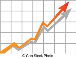 Graph clipart down Stock vector 200 Clipart Graph