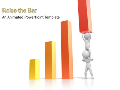 Graph clipart animated PowerPoint ID# Presenter 3D and
