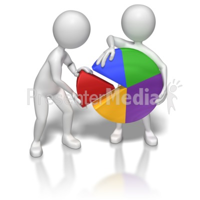 Graph clipart animated PresenterMedia from 7043 ID# Pie
