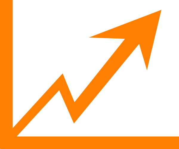 Graph clipart arrow png Image clip vector at Increase