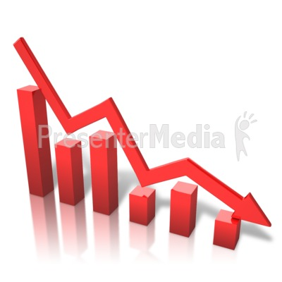 Graph clipart arrow png Decline Clipart Great Decline Art