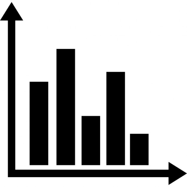Graph clipart black and white Graphic Free Icon Free bars