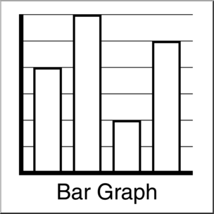 Graph clipart transparent background Abcteach abcteach B&W Bar 1