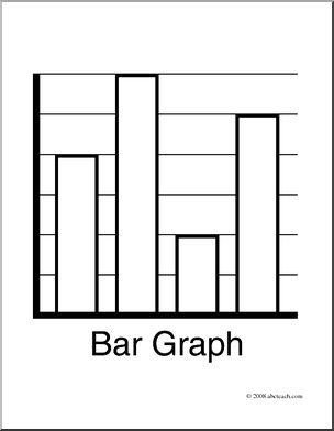 Graph clipart black and white Free art Bar Free Art