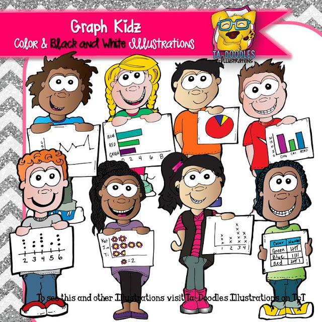 Graph clipart child Kidz Graph Illustrations Ta Doodles