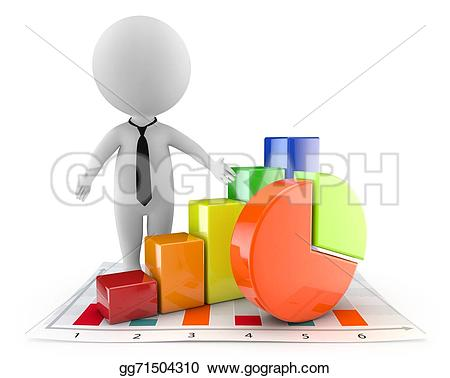 Graph clipart cute Document gg71504310 people cute 3d