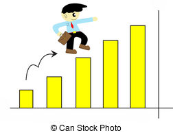 Graph clipart cute  of illustration cartoon graph