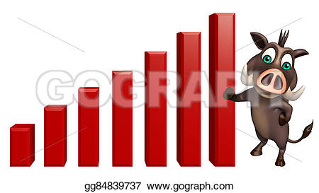 Graph clipart cute With  Drawing cartoon illustration