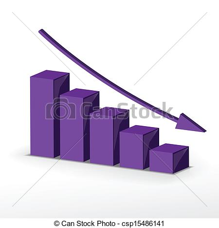 Graph clipart decline Graph graph business business