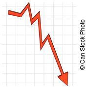 Graph clipart decline Line 8 with Stock Graph