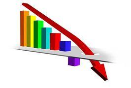 Graph clipart downward Panda Clipart Art Trend Clip