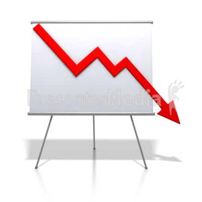Graph clipart downward Presentation Graph Trend Graph 2497