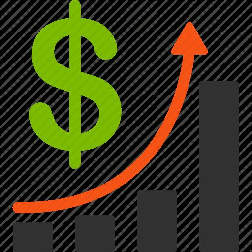 Graph clipart finance Finance growth graph financial chart