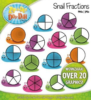 Graph clipart fraction On 20 40 Graphs%Fractions Rainbow