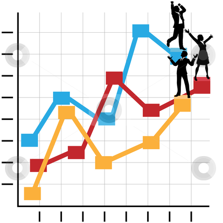 Graph clipart growth chart On Chart  People on