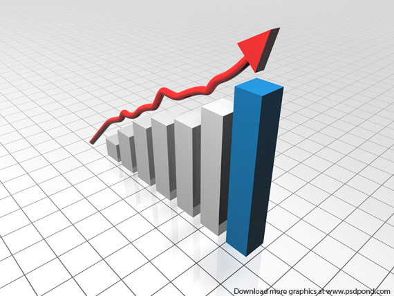 Graph clipart growth chart  Business Chart Clipart