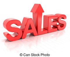Graph clipart increase sale Sales arrow Illustrations Clipart white