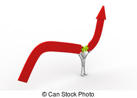 Graph clipart line graph Holding Line Art  and