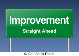 Graph clipart most improved 171 Improvement traffic 61 sign